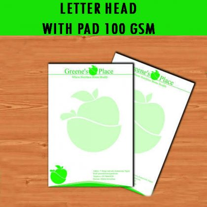 JK Excel Bond Letterhead ( 210 x 297 mm Single Side) 100 Gsm – WITH PAD  | Qty : 1000
